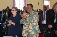 Naledi Pandor Applaud Catholic Church Community Centre in Madidi